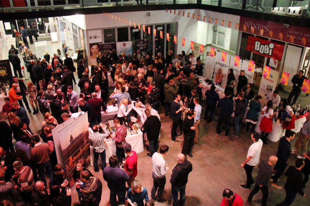 WineOS 2016 event in Osijek, Croatia