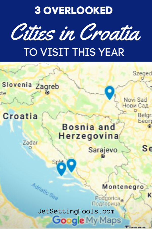Croatia Cities to Visit by JetSettingFools.com