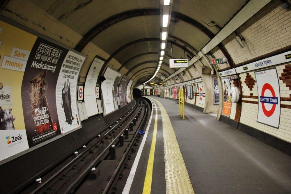 Kentish Town Tube Station, London, England, jetsettingfools.com
