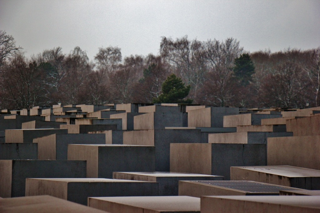 The Memorial to teh Murdered Jews of Europe in Berlin, Germany