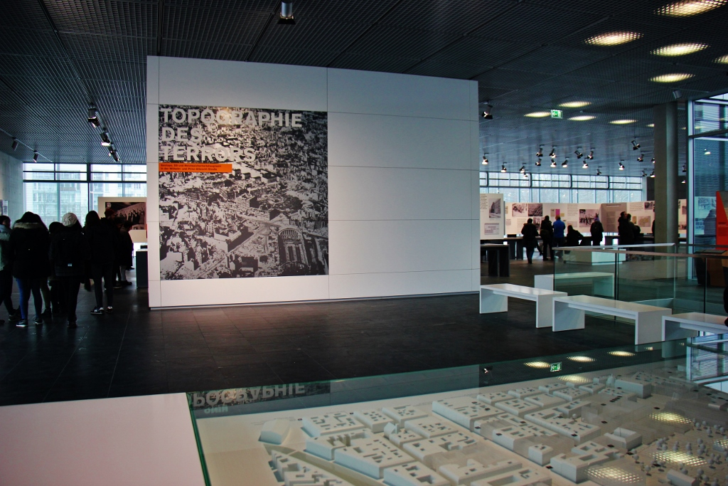Topography of Terror Museum in in Berlin, Germany