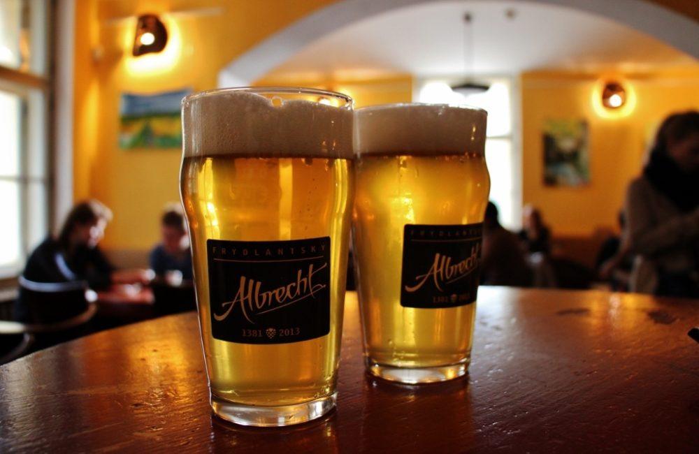 Craft Beers at Mrtva Ryba, Prague, Czech Republic