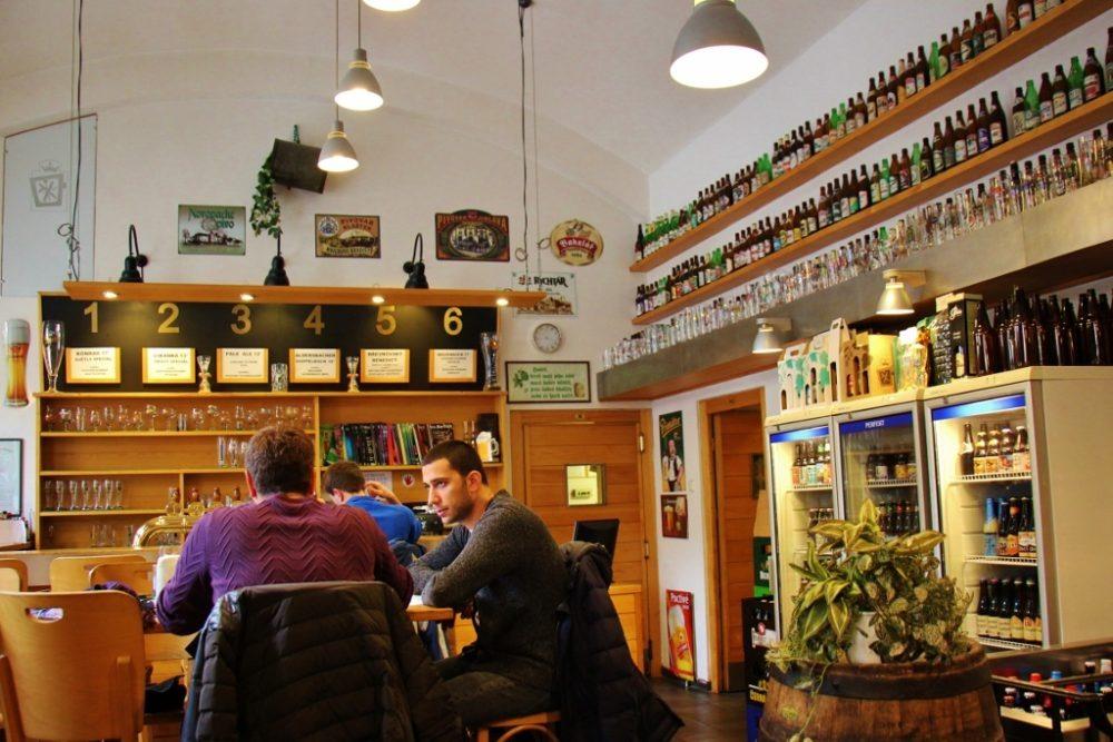 Pivovarsky Klub bar, Prague, Czech Republic