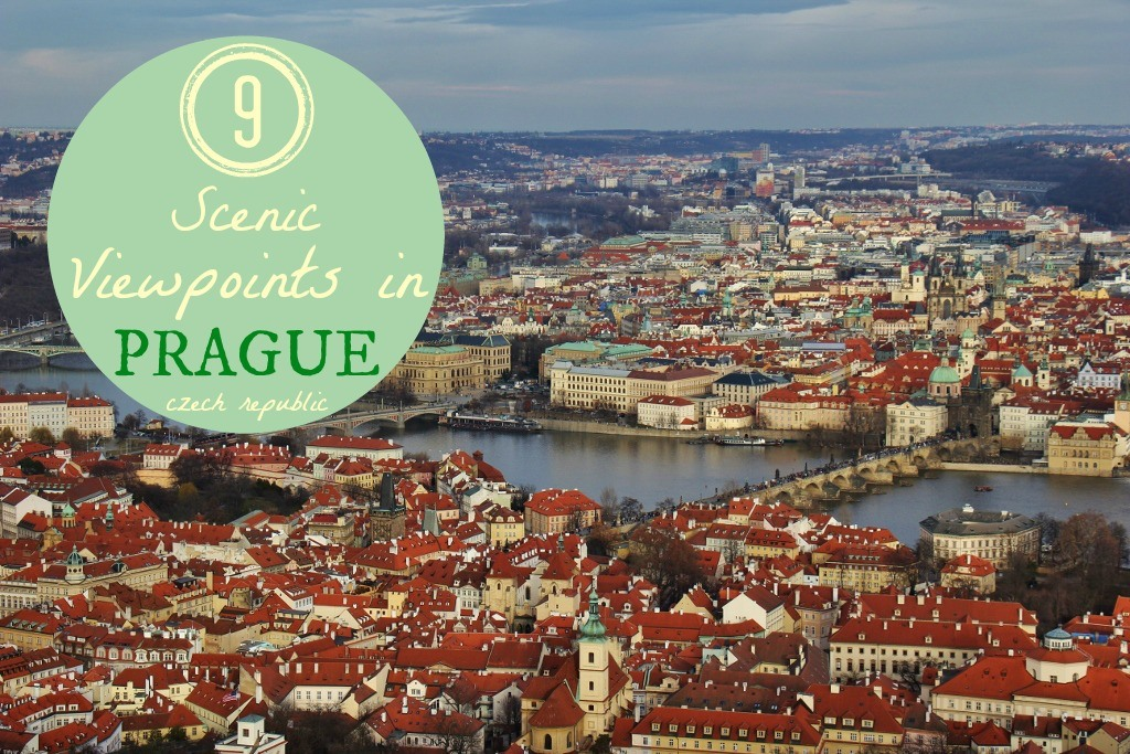 9 Scenic Viewpoings in Prague, Czech Republic by JetSettingFools.com