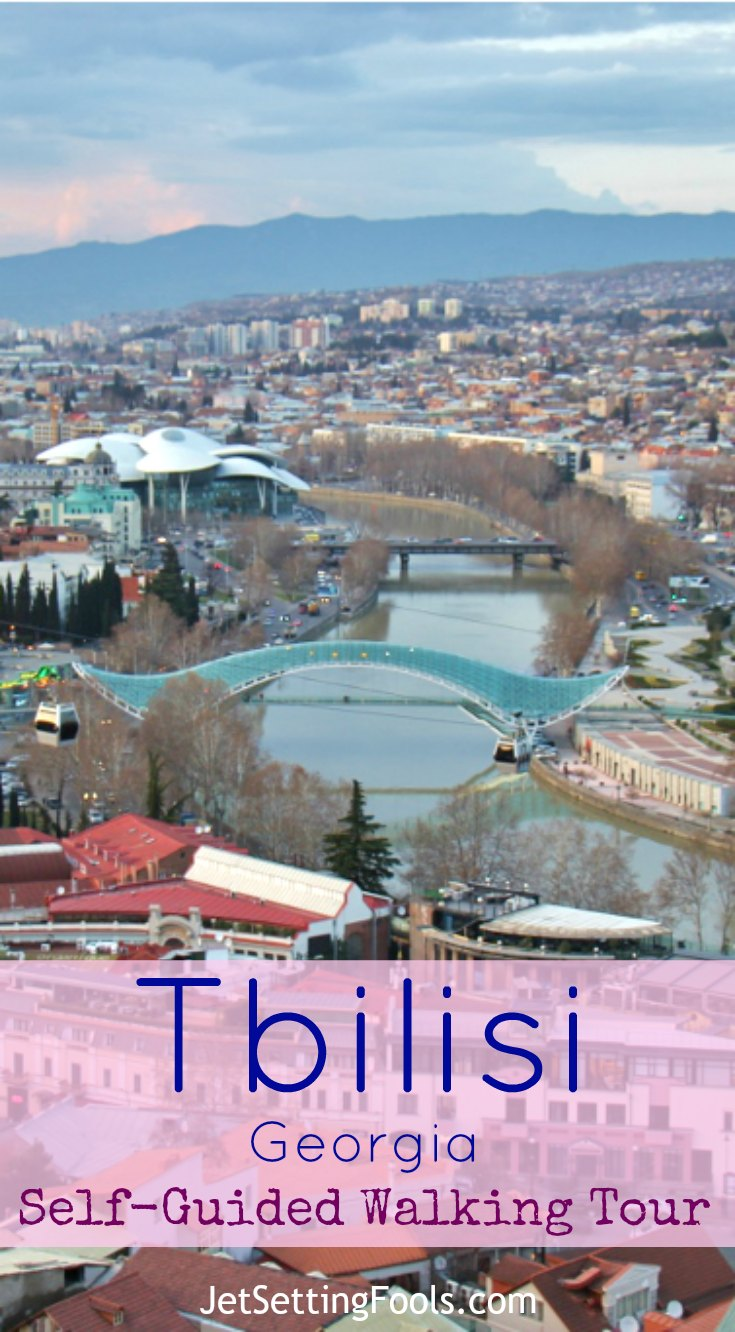 Tbilisi Self-Guided Walking Tour JetSettingFools.com