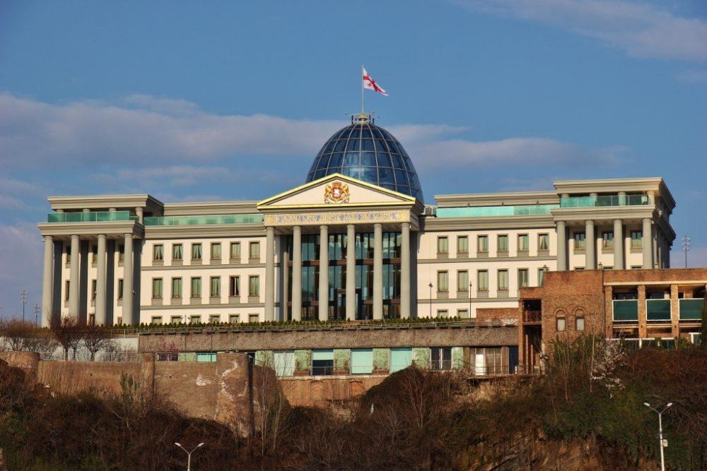 Georgian Presidential Palace, Tbilisi, Georgia