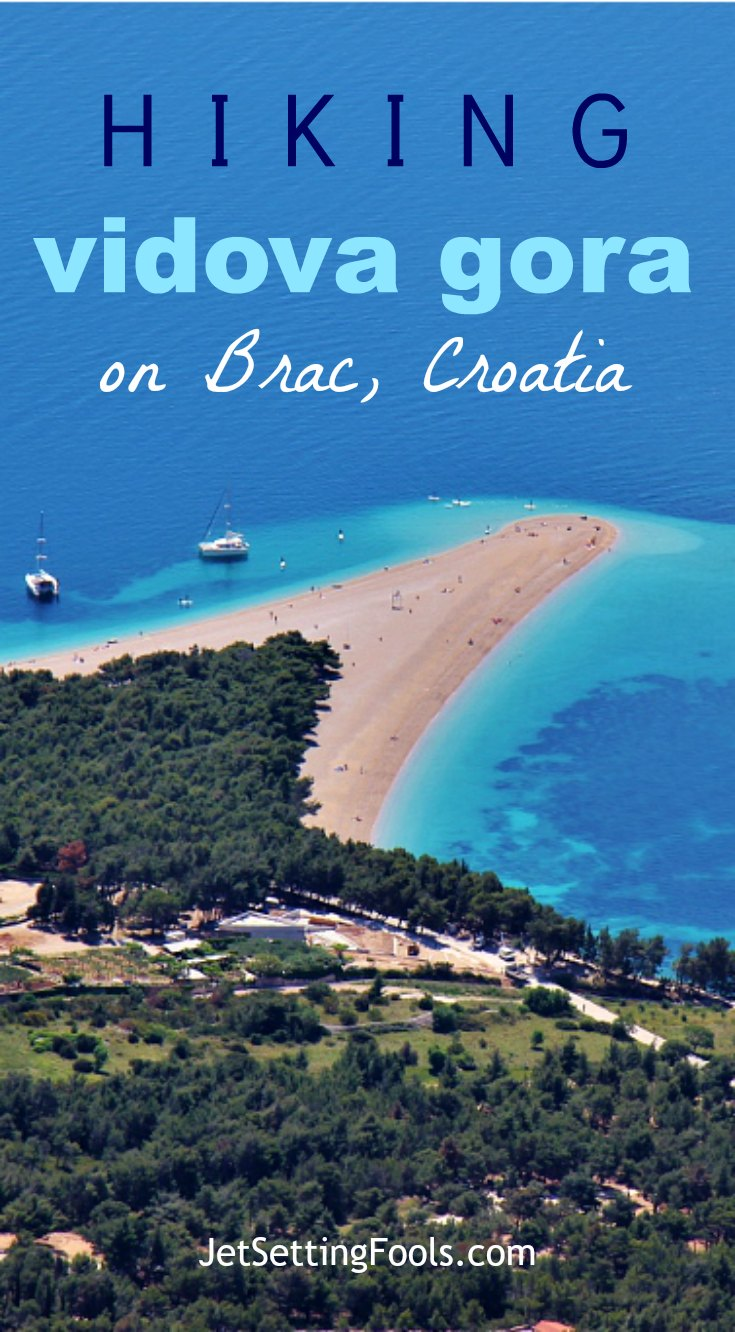 Hiking Vidova Gora on Brac Island, Croatia JetSettingFools.com
