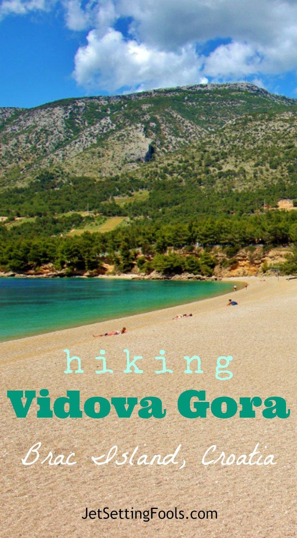 Hiking Vidova Gora on Brac Island, Croatia JetSettingFools.com
