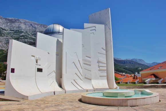 World War II Monument and Astronomical Observatory, Makarska, Croatia