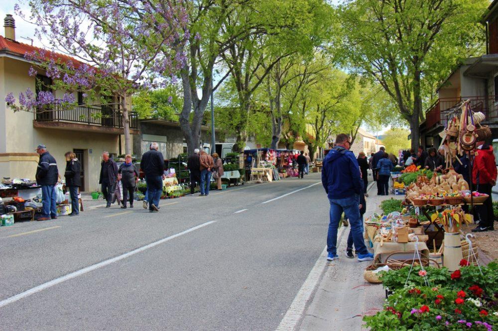 Zadvarje village Tuesday Market, Makarska, Croatia