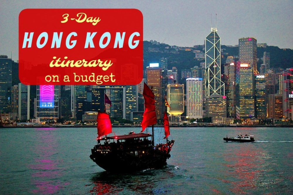 3-Day Hong Kong Itinerary on a budget by JetSettingFools.com