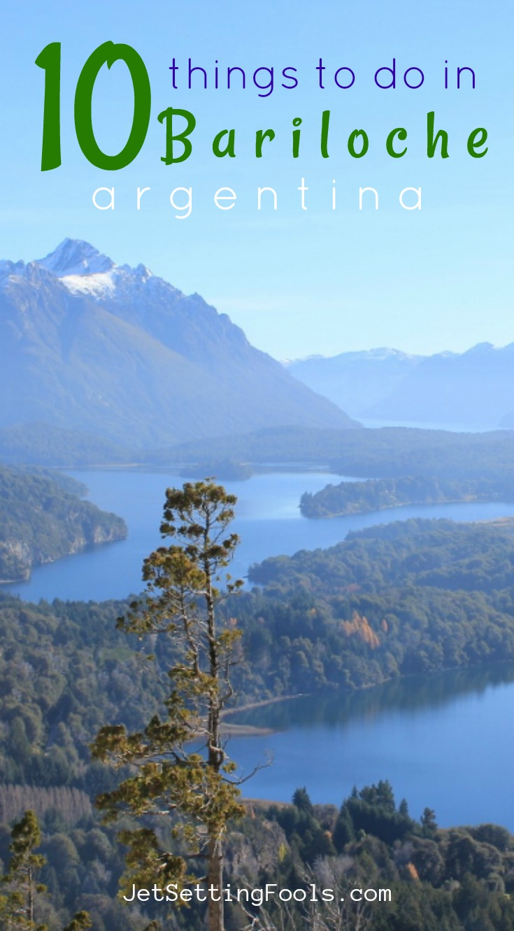 10 things to do in Bariloche by JetSettingFools.com
