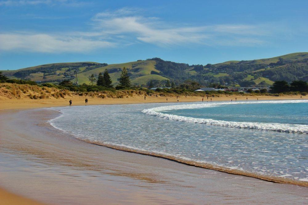 Apollo Bay and hills, Great Ocean Road, Australia, JetSettingFools.com