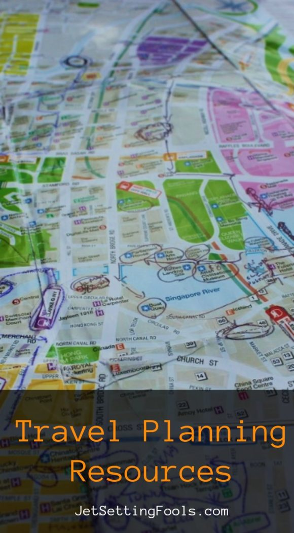 Travel Planning Resources by JetSettingFools.com