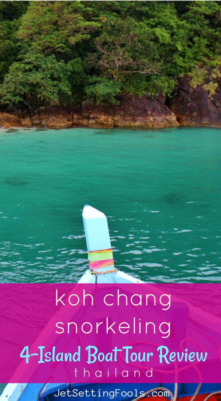 Koh Chang Snorkeling 4 Island Boat Tour Review Thailand JetSettingFools.com