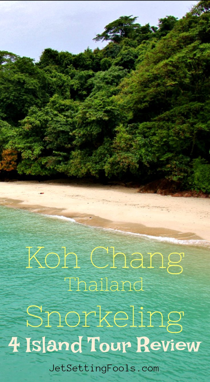 Koh Chang Thailand Snorkeling 4 Island Boat Tour Review by JetSettingFools.com