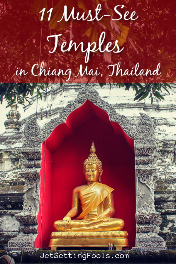 Temples in Chiang Mai by JetSettingFools.com