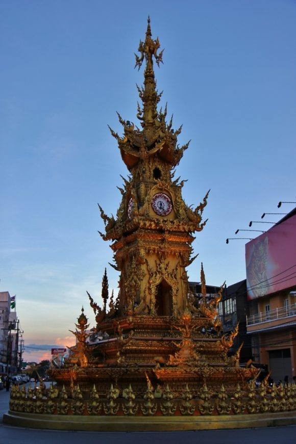 Clock Tower in Chiang Rai, Thailand