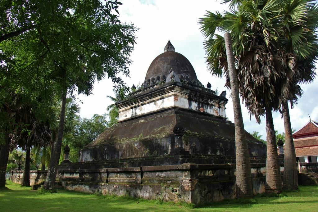 Lotus Stupa called Watermelon Stupa at Wat Visoun in Luang Prabang, Laos