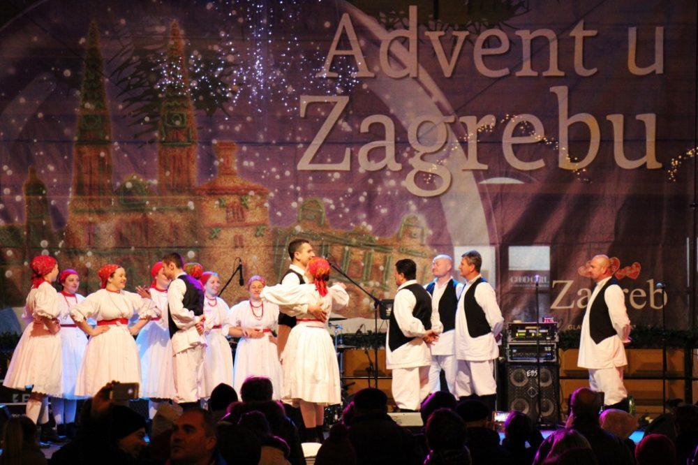 Performance at Zagreb Advent Celebration in Zagreb, Croatia