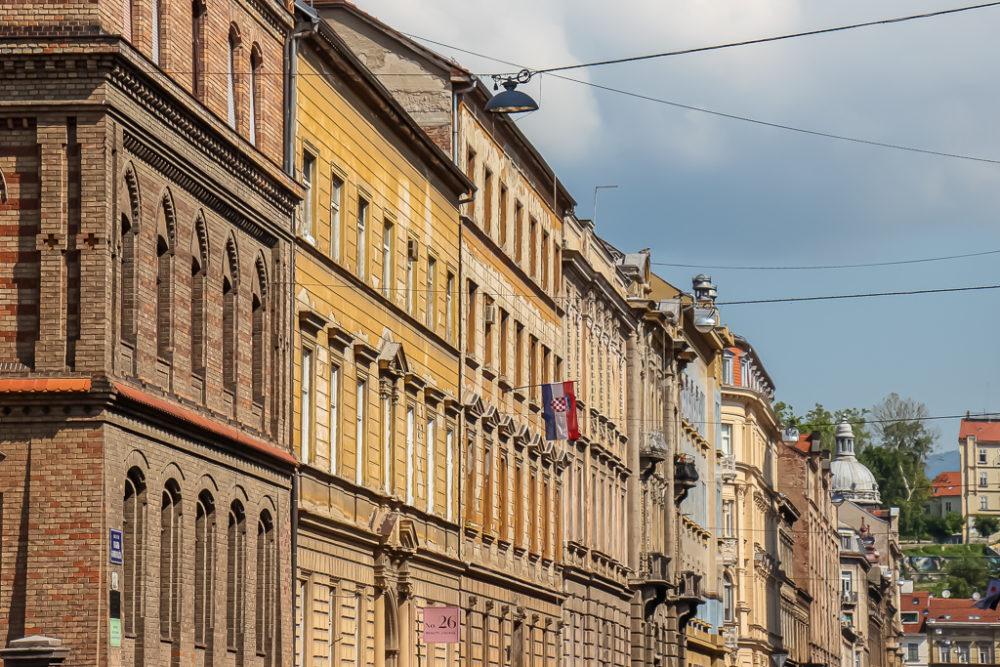 Architecture in the city of Zagreb, Croatia