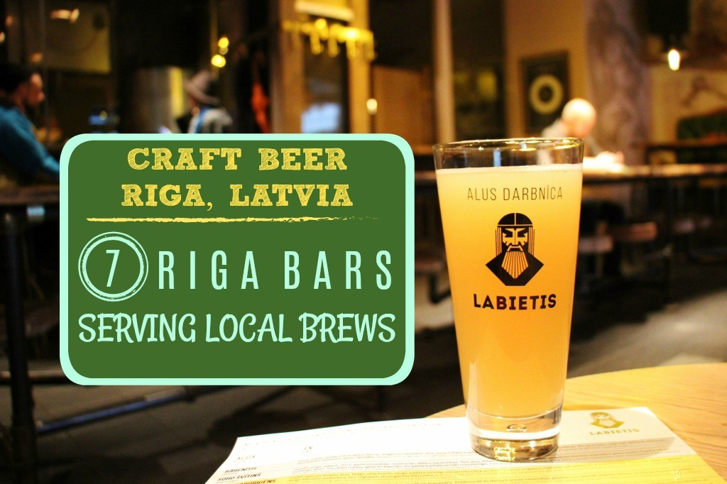 Craft Beer Riga 7 Riga Bars serving local brews by JetSettingFools.com