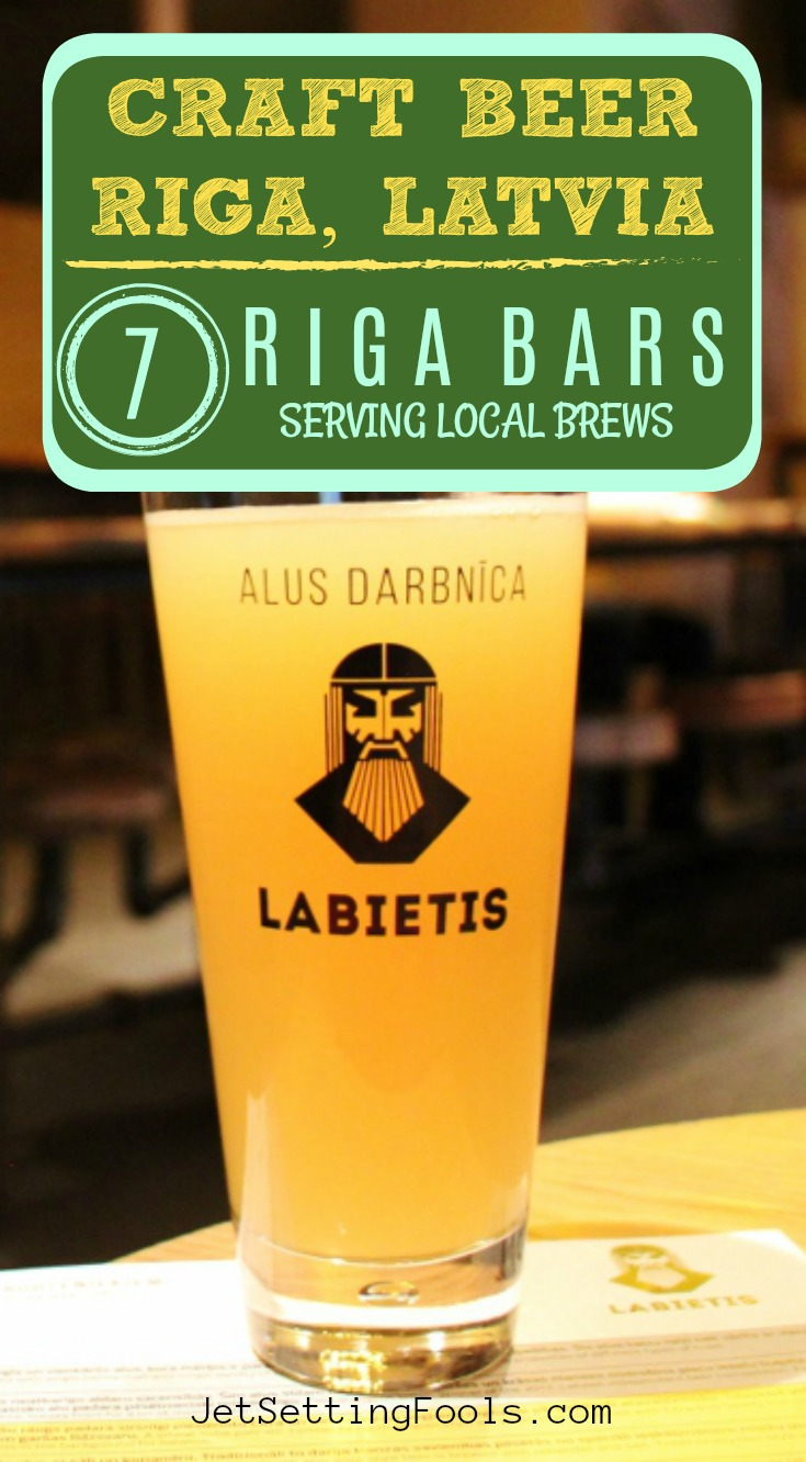 Craft Beer Riga Latvia Riga Bars Serving Local Brews by JetSettingFools.com