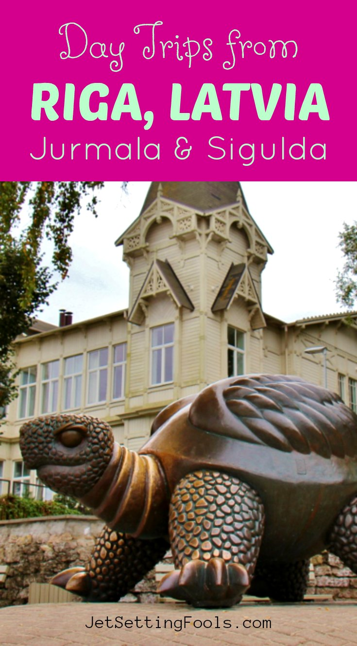 Day Trips from Riga Latvia to Jurmala Sigulda by JetSettingFools.com