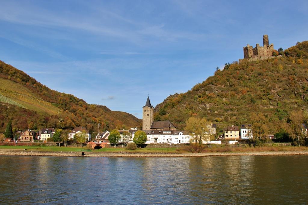 Maus Castle Deuernburg Rhine River Germany Jetsetting