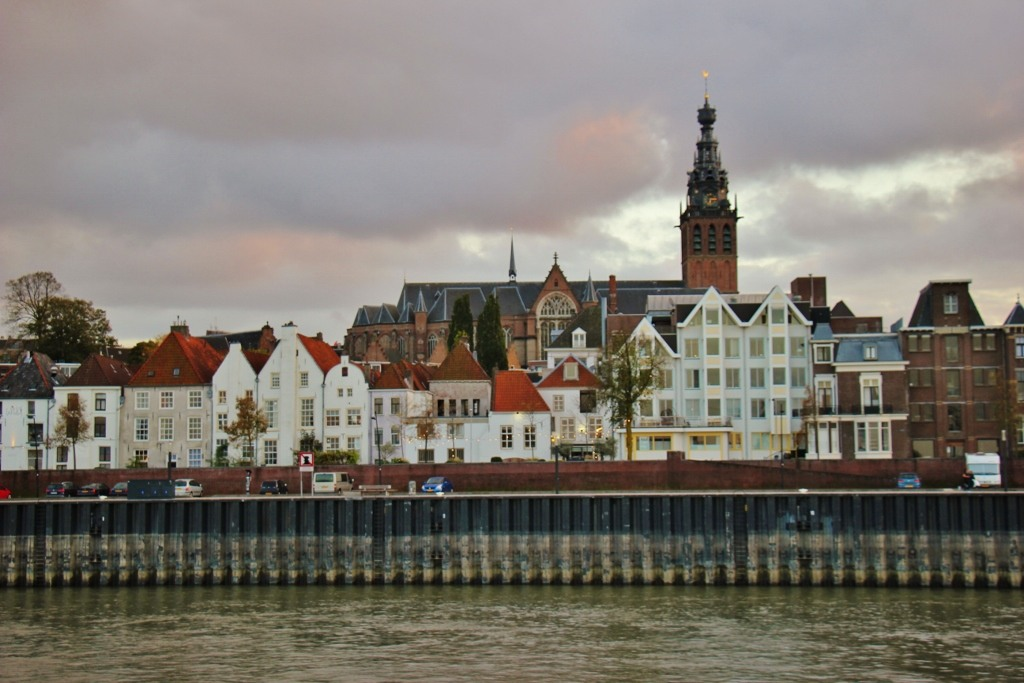 St. Stephen's Church and town of Nijmegen, Netherlands
