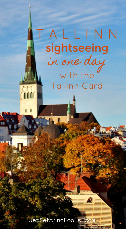 Tallinn Sightseeing with the Tallinn Card by JetSettingFools.com