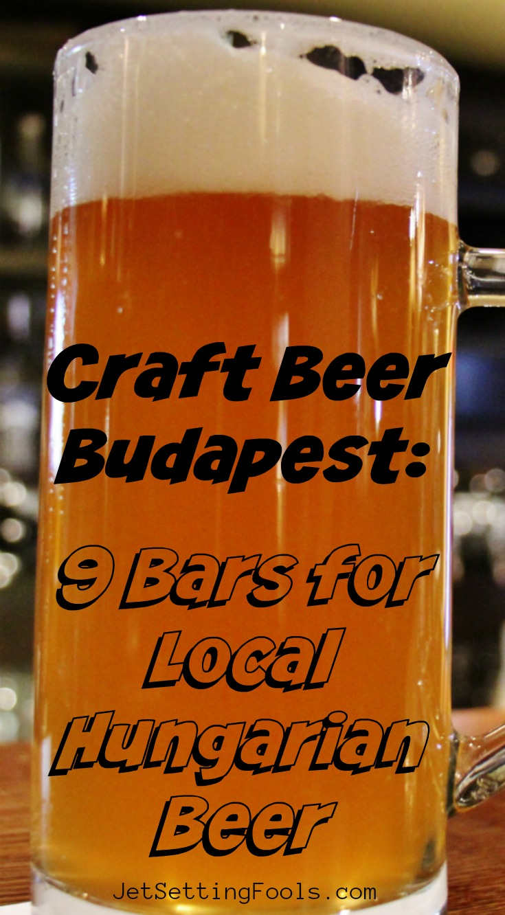 Craft Beer Budapest 9 Hungarian Beer Bars by JetSettingFools.com