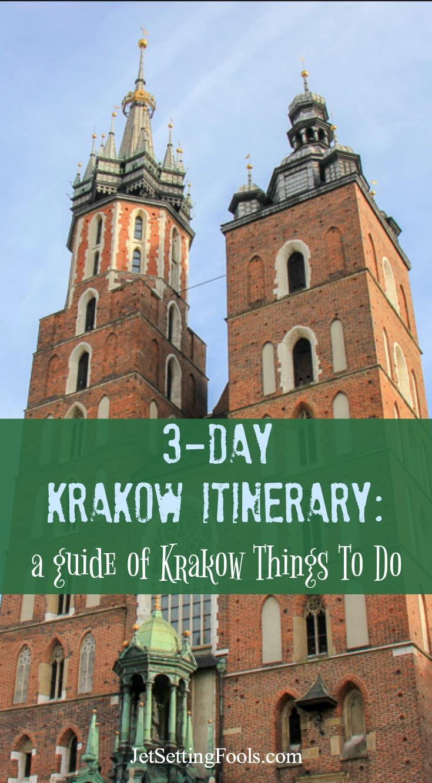 Krakow Things To Do 3-day Krakow Itinerary by JetSettingFools.com