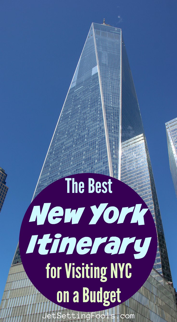 The Best New York Itinerary for Visiting NYC on a Budget ...