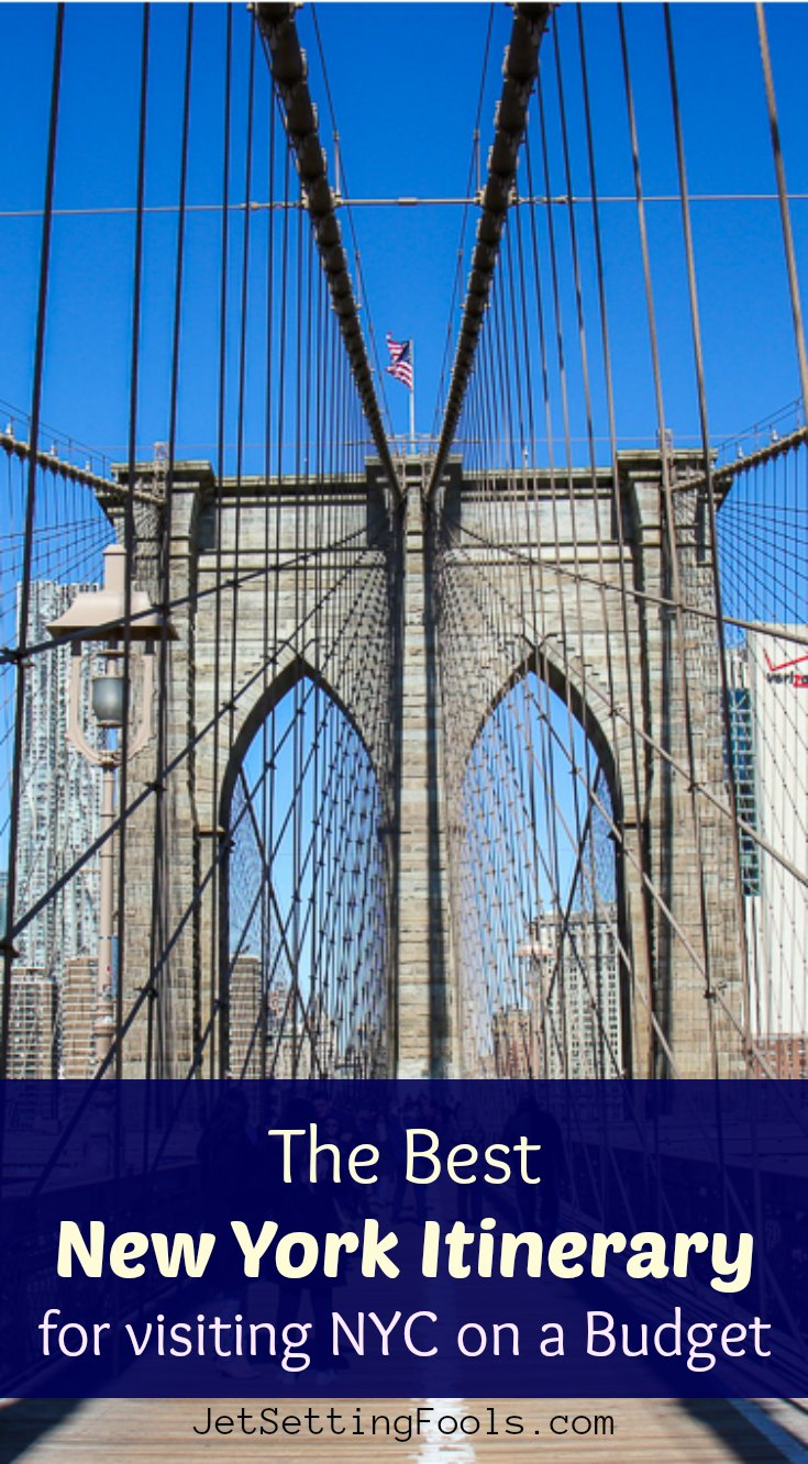 New York Itinerary on a Budget by JetSettingFools.com