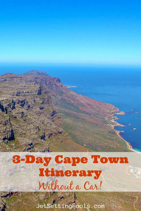 3-Day Cape Town Itinerary by JetSettingFools.com