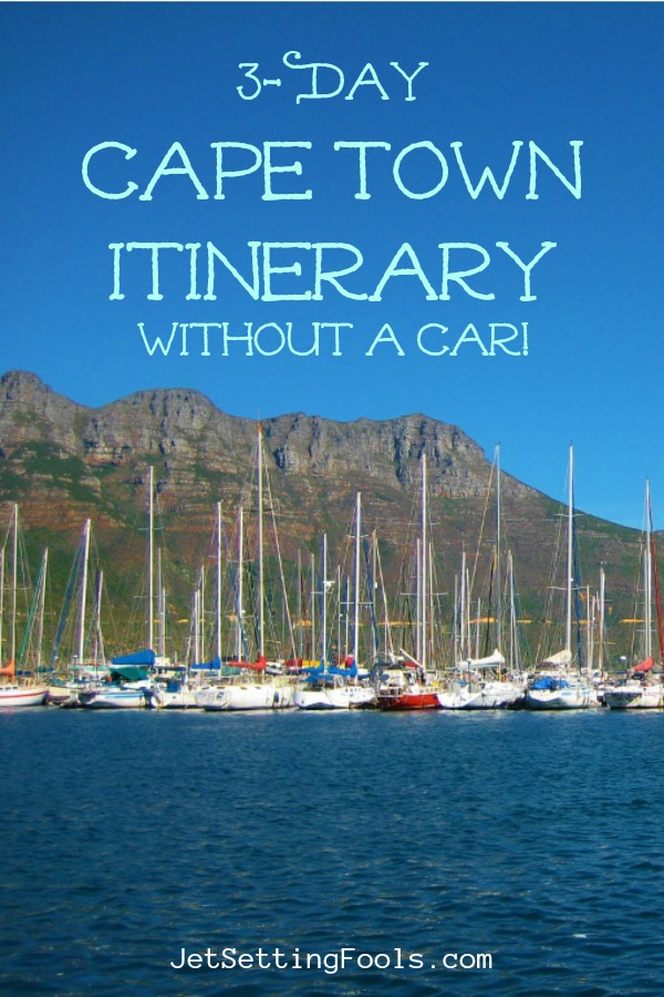 3-Day Cape Town South Africa Itinerary without a car by JetSettingFools.com