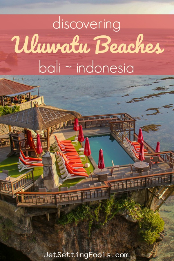 Discovering Uluwatu Beaches, Bali, Indonesia by JetSettingFools.com