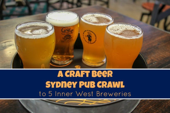 Craft Beer Sydney Pub Crawl 5 Inner West Breweries, Australia by JetSettingFools.com