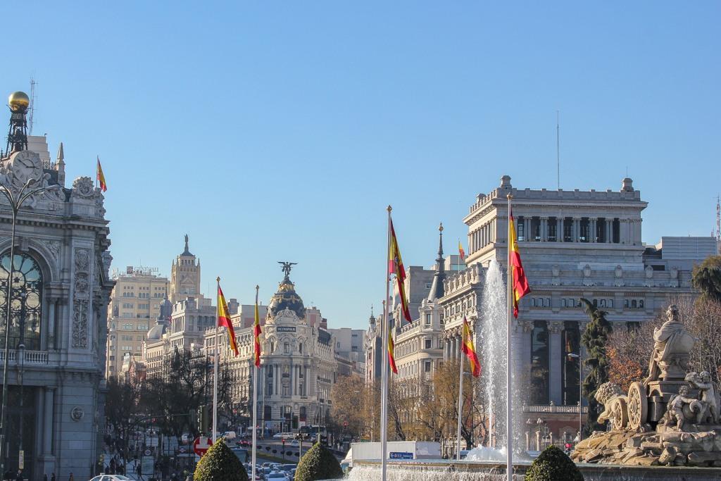 Grand Via, Madrid, Spain
