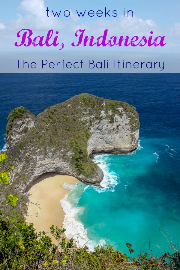 Two Weeks in Bali, Indonesia The Perfect Bali Itinerary by JetSettingFools.com