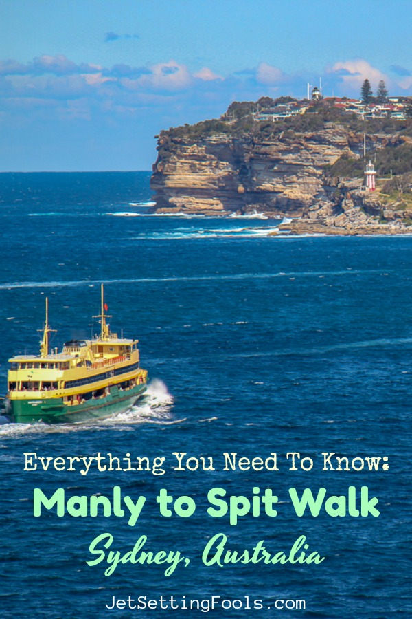 Everything You Need to Know Manly to Spit Walk Sydney Australia by JetSettingFools.com