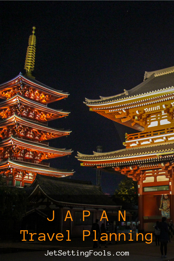 Japan Travel Planning by JetSettingFools.com
