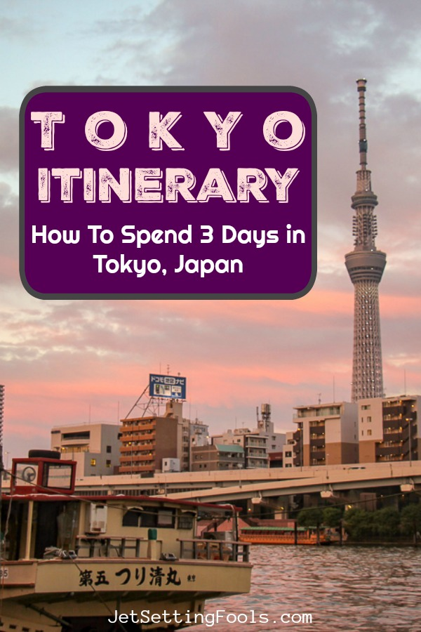 Tokyo Itinerary 3 Days in Tokyo, Japan by JetsettingFools.com