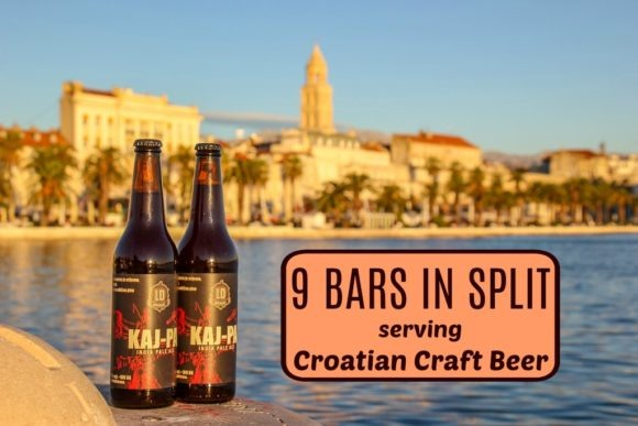 9 Bars in Split Serving Croatian Craft Beer by JetSettingFools.com