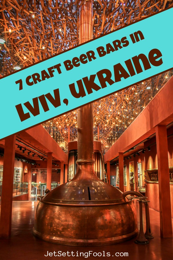 Craft Beer Bars in Lviv, Ukraine by JetSettingFools.com