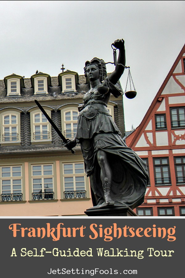 Frankfurt Sightseeing A Self Guided Walking Tour by JetSettingFools.com