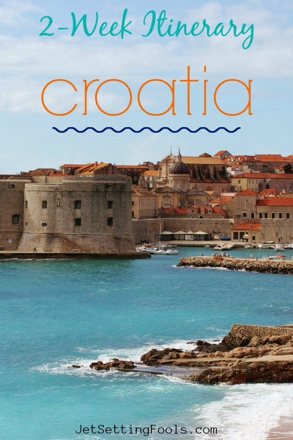 2 Week Croatia Itinerary Dubrovnik by JetSetting Fools