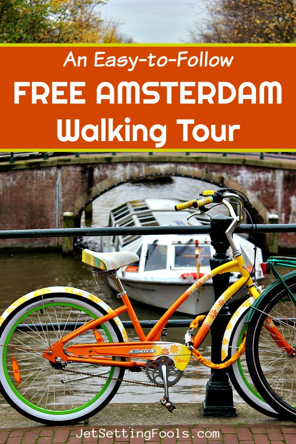 Free Amsterdam Walking Tour by JetSettingFools.com