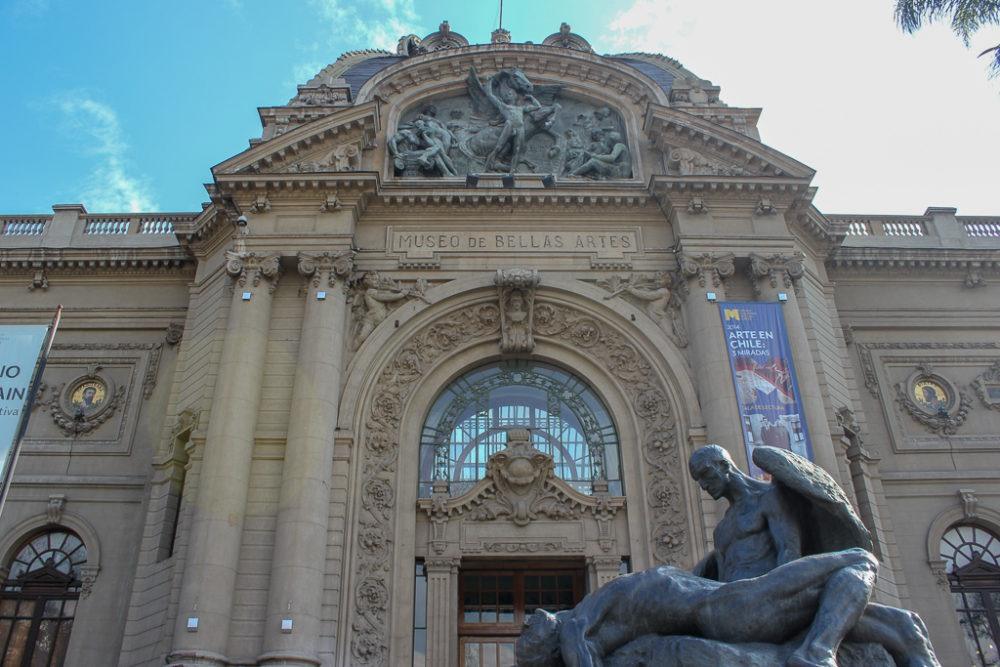 Palacio de la Bellas Artas in Santiago, Chile